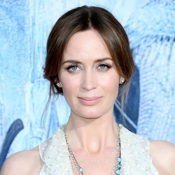 Emily Blunt's New Blonde 'Do Will Have You Reaching for the Bleach, Stat