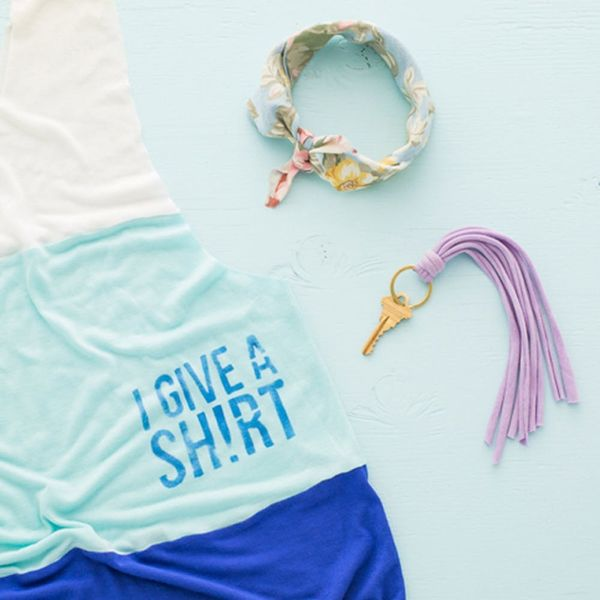 3 No-Sew Accessories to Make from Your Local Thrift Shop Tees