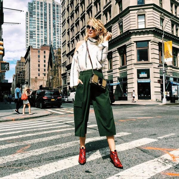 14 Street Style Looks from Fashion Week to Rock at Work