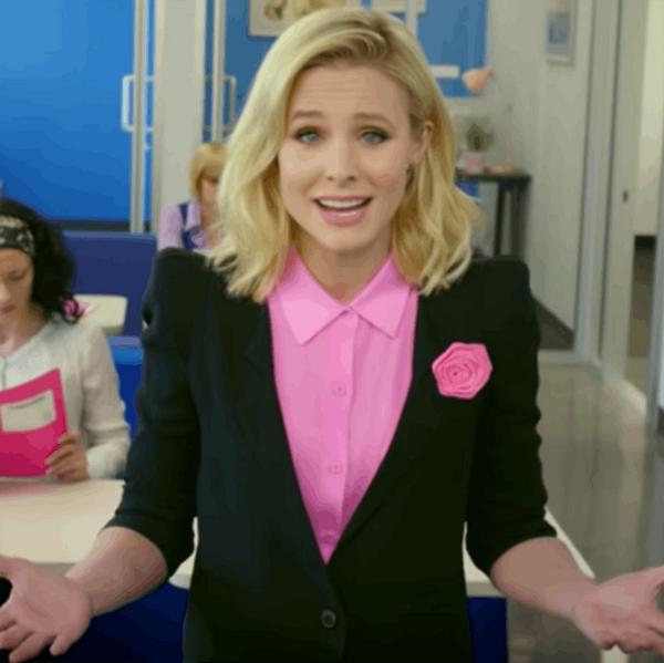 Watch Kristen Bell's Hilarious Takedown on Women's Workplace Struggles
