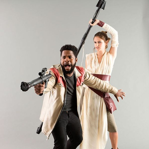 Go to a Galaxy Far, Far Away With This Star Wars Finn + Rey Couples Costume