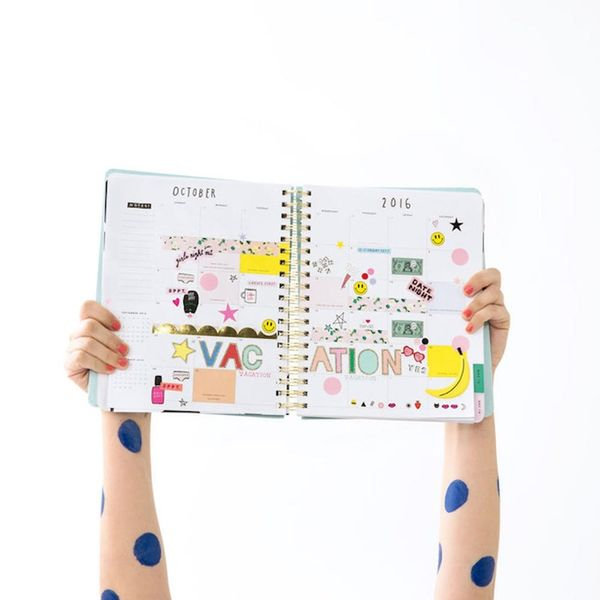 """16 Creative Sticker Sets to Help You """"Stick"""" to Your Planner Routine"""