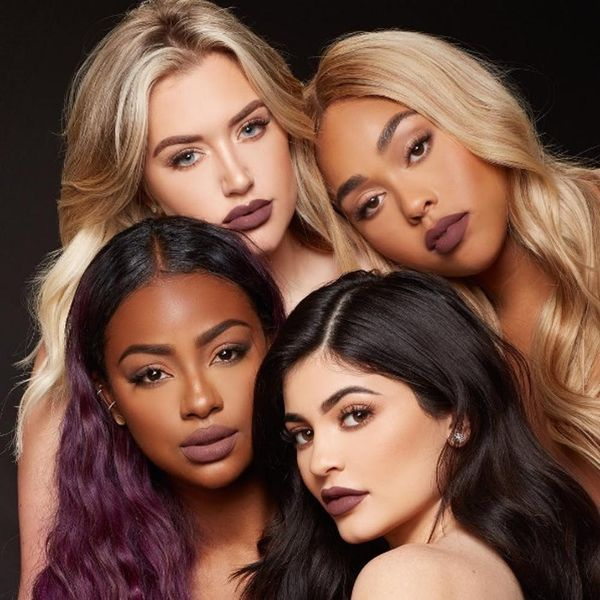 This Proves Kylie Jenner's Love Bite Lip Gloss Is the Color of an Actual Hickey