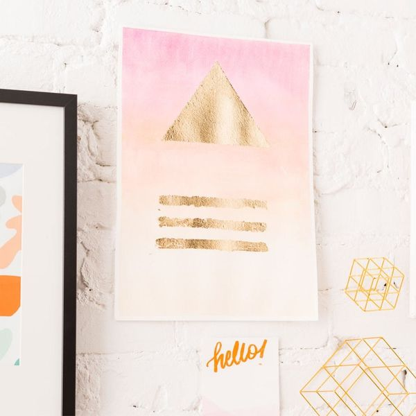DIY This $2000 Anthropologie Wall Art for Less Than a Round of Drinks