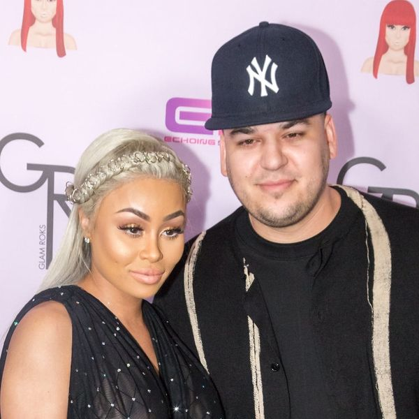 Blac Chyna and Rob Kardashian Just Shared the First Sonogram of their Baby Girl