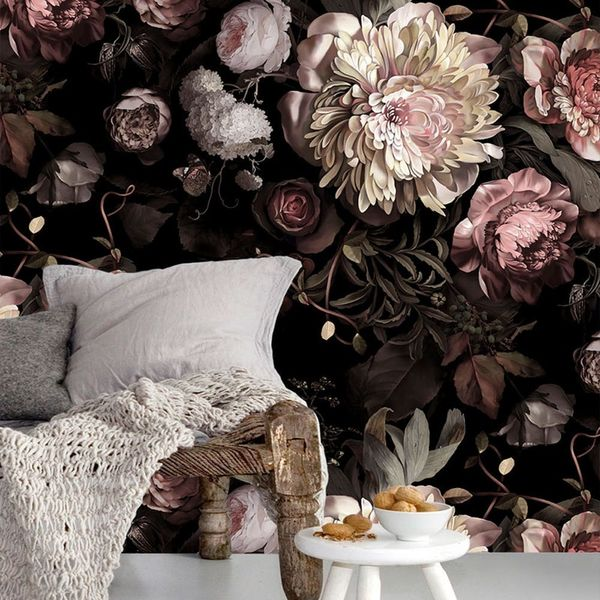 10 Mural Wallpapers That Add Drama to Your Space