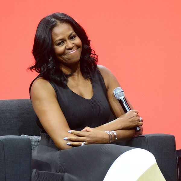 We Found Michelle Obama's One-Shouldered Top from Her Italian Vacation
