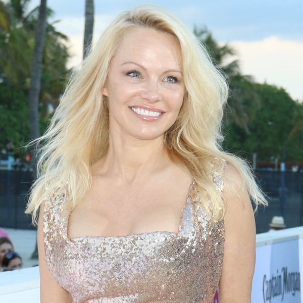 Pamela Anderson's Makeunder at Cannes Has Us Doing a Double-Take