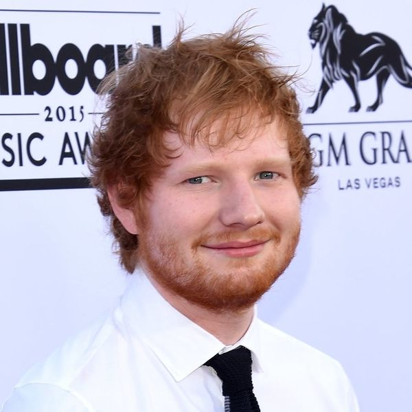 Ed Sheeran Is Engaged, According to a Secret-Spilling Russell Crowe