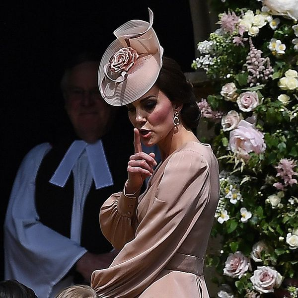 These Photos of Kate Middleton Scolding the Kids at Pippa's Wedding Are Going Viral