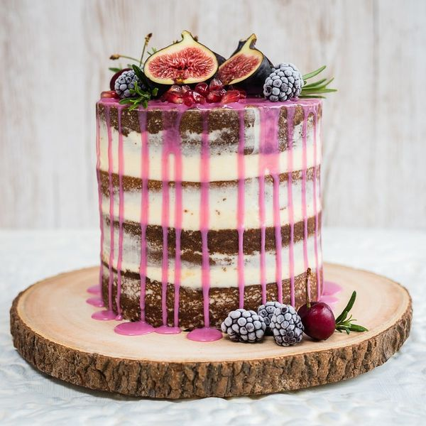 We're Drooling Over This Wildly Romantic Drip Layer Cake That's Perfect for Your Bridal Shower