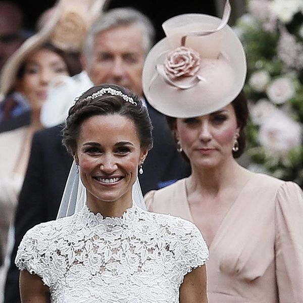 Kate Middleton Just Gave Us Major Royal Wedding Flashbacks on Her Sister's Big Day