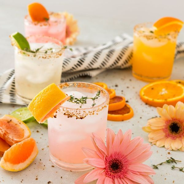 This Citrus Mezcal Cocktails Recipe Is Summer's Perfect Boozy Refreshment