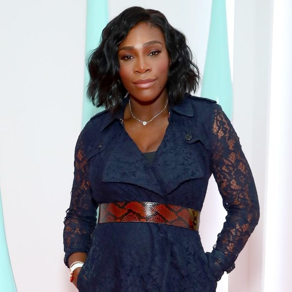 Serena Williams Is Showing Off Her Baby Bump in a Ruffled One-Piece Swimsuit