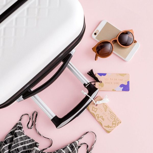Make These Stamped Faux Leather Goods For Your Next Vacay or Staycation