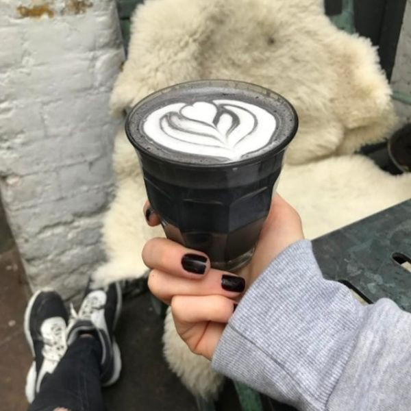 Begone, Rainbows: It's the Goth Latte's Time to Shine