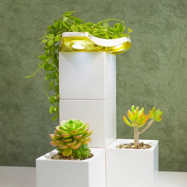 This Lego-Like Planter Is Just What Your Indoor Garden Needs