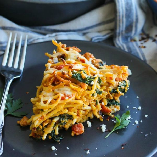 These 14 Make-Ahead *Pasta Pie* Recipes Make Weeknight Dinners Easy-Peasy