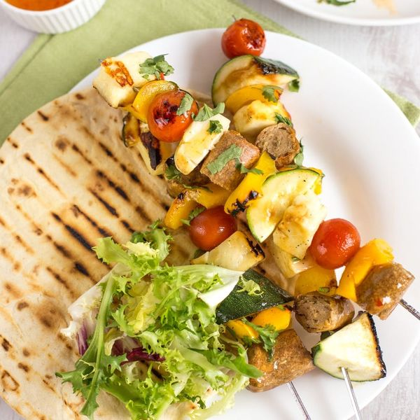 Take Your Memorial Day BBQ to the Next Level With Sweet Chili Halloumi Skewers