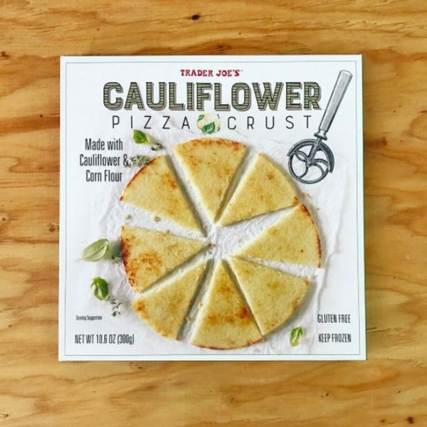 Cauliflower Pizza Is the Latest Healthy Craze Taking Over the Shelves at Trader Joe's