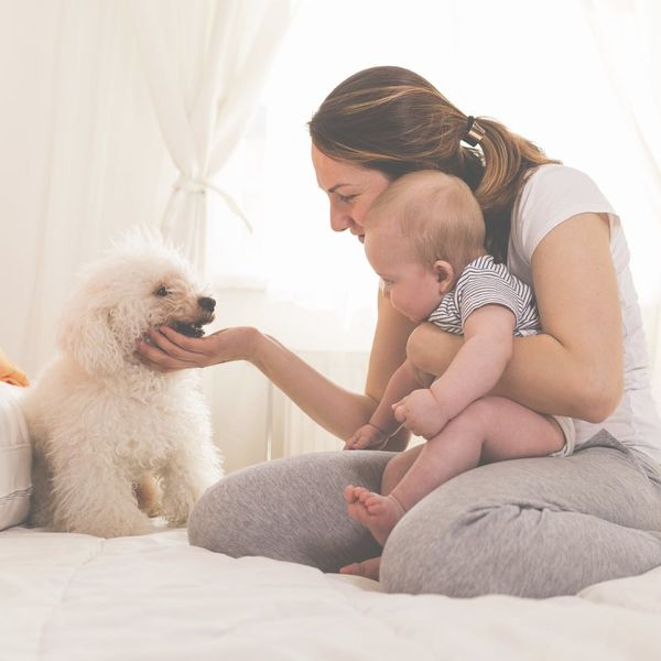 Having a Pet Could Make Your Baby Healthier