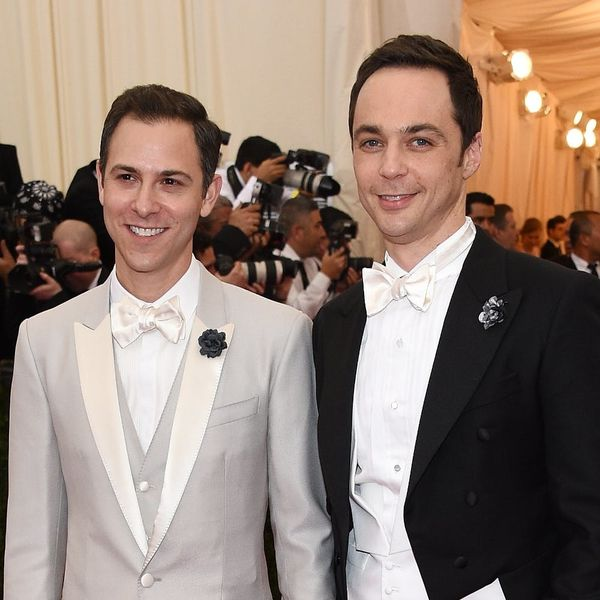 Big Bang Theory Star Jim Parsons Just Walked Down the Aisle With His Longtime Love Todd Spiewak