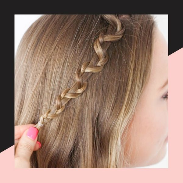 How to Do a Snake Accent Braid Hairstyle in 3 Simple Steps