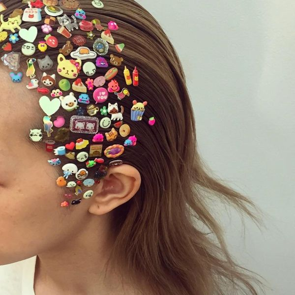 All You Need to Recreate the Next Big Thing in Hair Is… a Pack of Stickers?