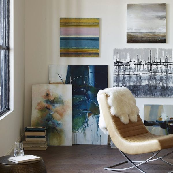 This New Crate & Barrel Wall Art Collab Will Seriously Elevate Your Gallery Wall