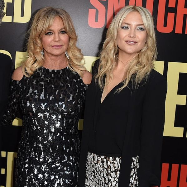 Goldie Hawn and Kate Hudson Perfect Mommy-and-Me Red Carpet Style