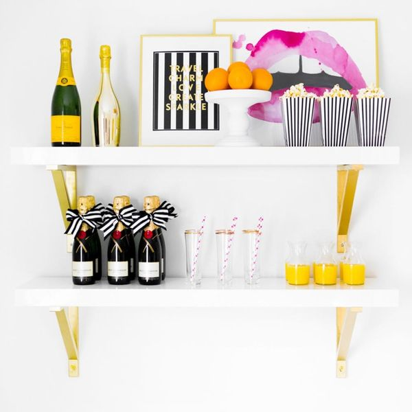 Serve Cocktails Like an Adult With A Classy Vertical Bar