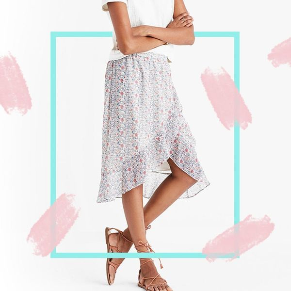 The Edit: Get the Asymmetrical Ruffle Skirt We're Seeing Everywhere