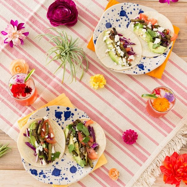 Celebrate Sunny Days With Prickly Pear Margaritas + Cactus Tacos