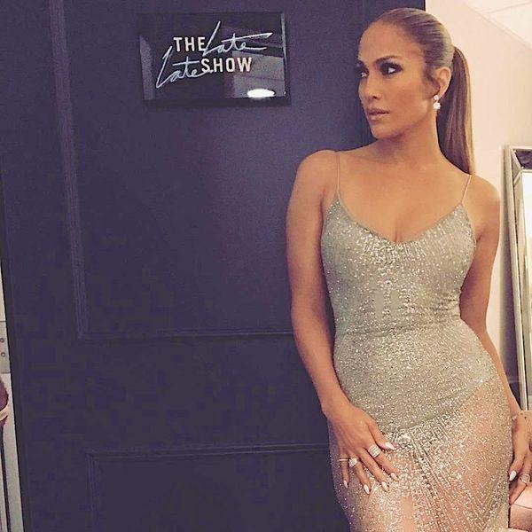 You Can Buy Jennifer Lopez's Latest Sparkly Naked Dress for $111