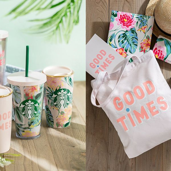 Starbucks + Ban.do's New Collaboration Has the Perfect Summer Vibe… But There's a Catch