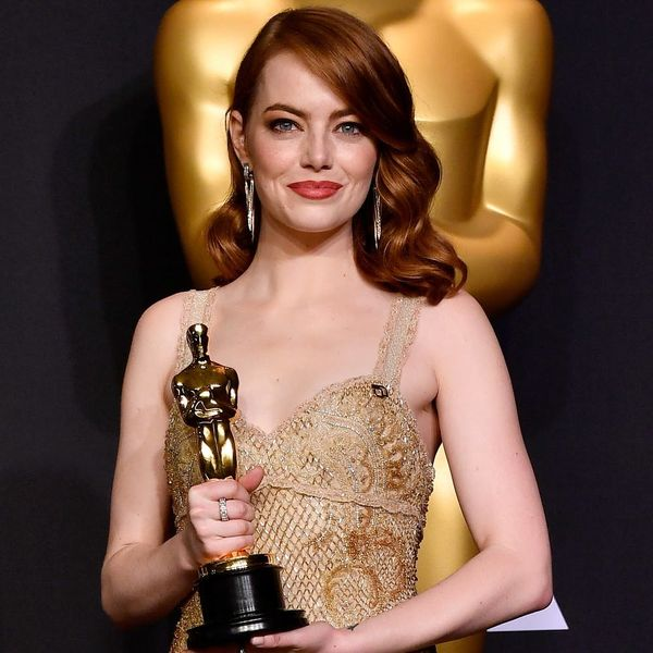 Emma Stone Just Ditched Her Dark Red Hair for a Spring-Ready Color