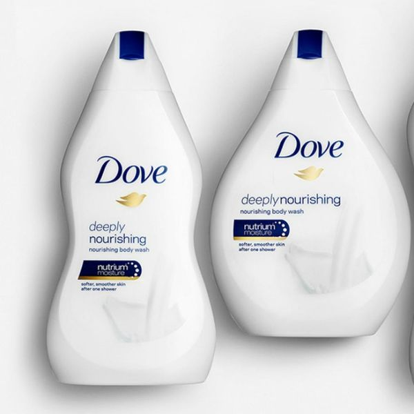 Twitter Is Dragging Dove for Their Body Shape Body Wash Bottles
