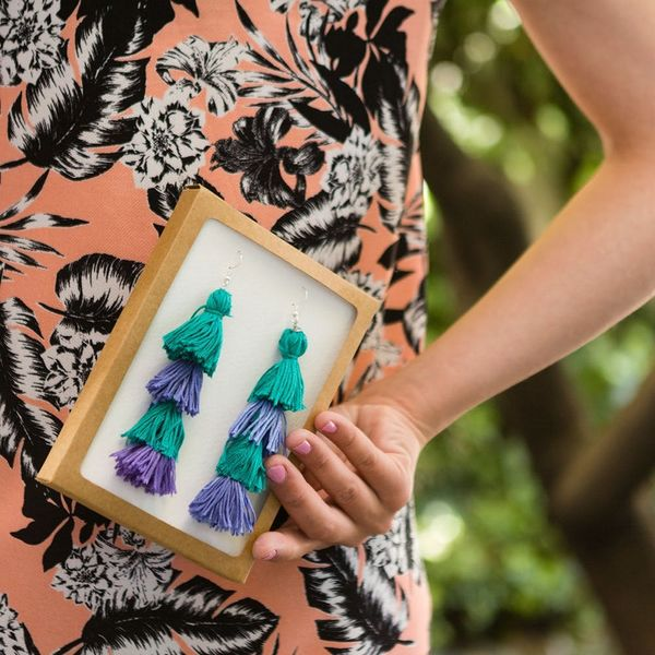 Gift Your Mom These Anthropologie Earrings (*Psst* She'll Never Know They're DIY)