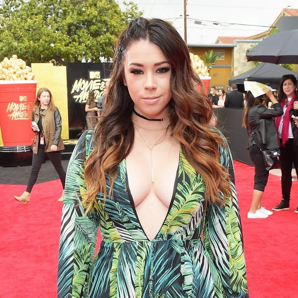 This Actress Just Wore a $38 Knockoff of Jennifer Lopez's Versace Dress
