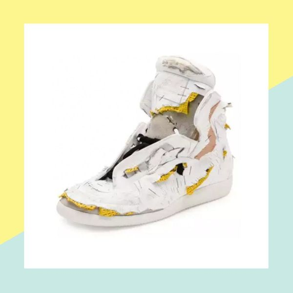 These $1425 Designer Sneakers Look Like They've Been Through a Shredder