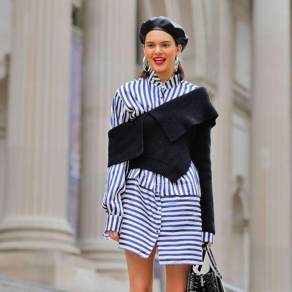 Spotted: Kendall Jenner Pulls a Blair Waldorfon the Metropolitan Museum Steps