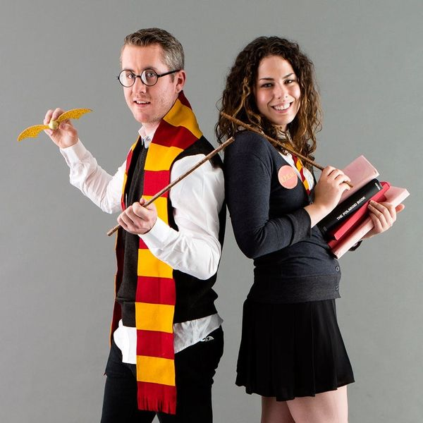 Ditch Your Muggle-ness by Wearing This Harry Potter and Hermione Halloween Couples Costume