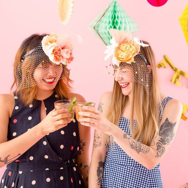 Come in First Place With This DIY Kentucky Derby Fascinator