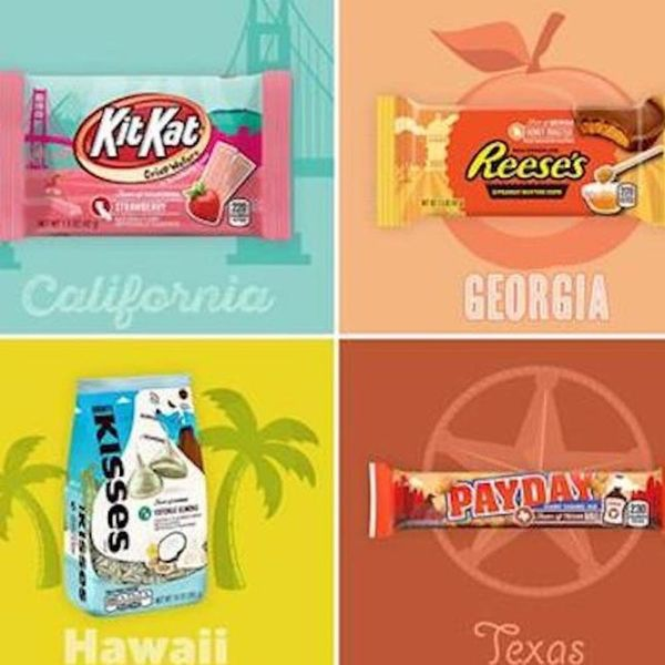 Hershey's Has Launched 7 New Wild Candy Flavors Inspired by Select States