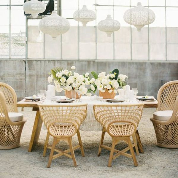 9 Rattan Wedding Decorations to Consider for Your Big Day