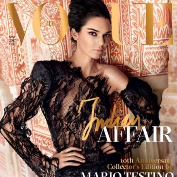 Kendall Jenner's Vogue India Cover Has Sparked ANOTHER Controversy