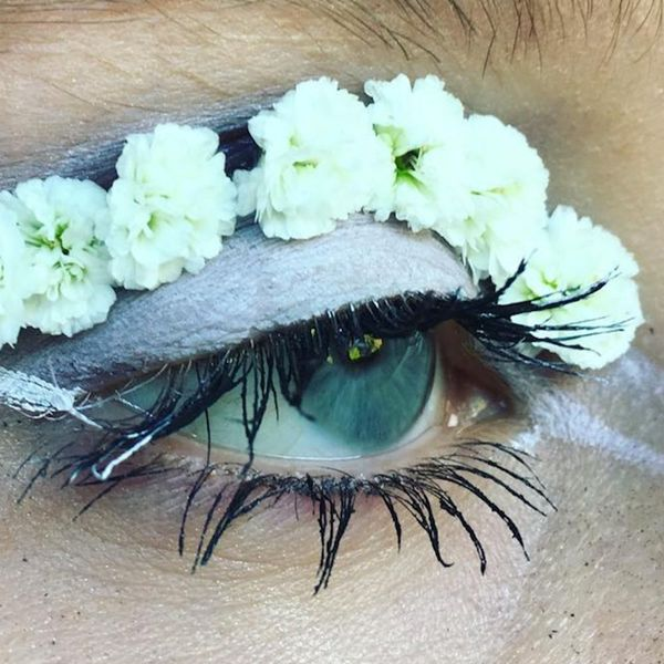 Terrarium Eyes May Dethrone Floral Eyeliner As the Hottest Beauty Trend