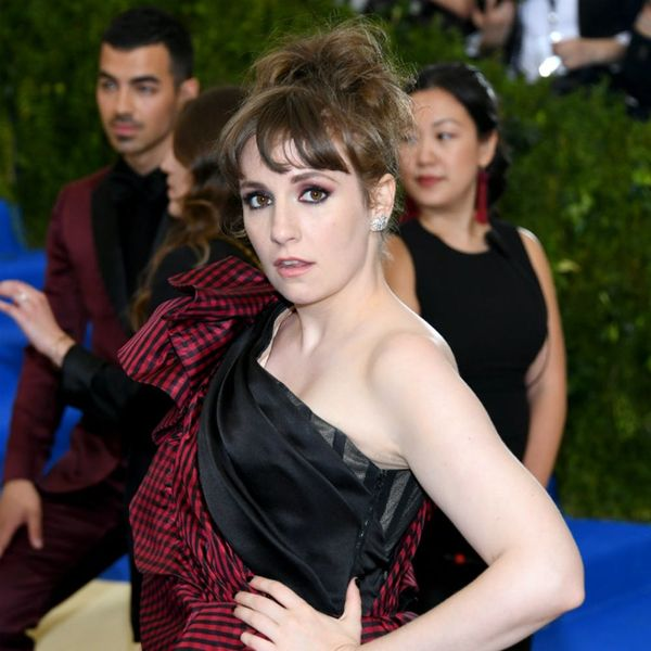 This Is the Reason Lena Dunham Ended Up in the Hospital After the Met Gala