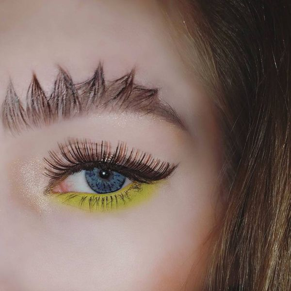 *This* Magical Creature Inspired the Newest Instagram Eyebrow Trend