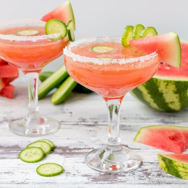 Surprise Your Mom With Our Watermelon Cucumber Mom-osa Recipe!